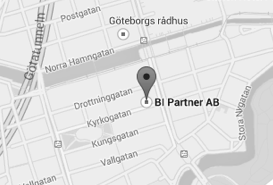 BI Partner location map